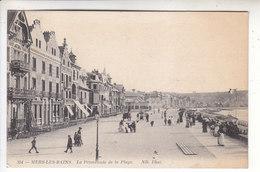 Sp- 80 - MERS LES BAINS - La Promenade De La Plage - Cachet - 1915 - - Mers Les Bains
