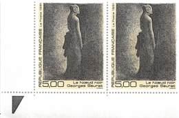 FRANCE 1991 N° 2693** SEURAT BLOC DE 2 BDF - France