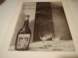 ANCIENNE PUBLICITE  CHERRY ROCHER 3 MANIERES DE CONSOMMATION 1930 - Affiches