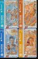 PAPUA-NEUGUINEA 4 Telefonkarten - Pepsi Cola-  Siehe Scan -10744 - Papua New Guinea