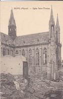 51--- REIMS--église Saint-thomas--( Après Les Bombardements )--voir 2 Scans - Reims