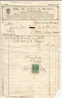 FATTURA STAB. TIP. L'ECO DI MESSINA 1931 (36) - Italie