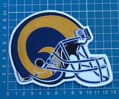 ST. LOUIS RAMS FOOTBALL NFL SUPERBOWL LOGO PATCH HELMET JERSEY SEW EMBROIDERED - St. Louis Rams