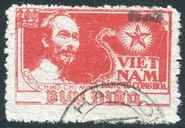 NORD VIETNAM 1954  YT N° 80 F (o)  Mi# 17 Used - Vietnam