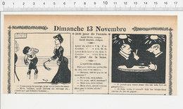 2 Scans Humour De 1904 Punition Enfant Martinet Jeu De Cartes Piquet ( Brûler La Chandelle Par Les Deux Bouts ) 223S - Non Classés