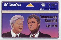 KANADA Telefonkarte - Vancouver Summit  -  Siehe Scan -10746 - Canada