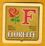 Sous-bock Cartonné - Bière - Belgique - Floreffe - Abbaye Abdij - Bière Spéciale Speciaal Bier - Beer Mats