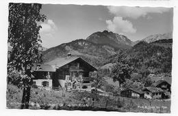 (RECTO / VERSO) BERCHTESGADEN EN 1955 - LANDHAUS TANNENGRÜN - BEAUX TIMBRES - FORMAT CPA VOYAGEE - Berchtesgaden