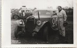 PHOTO - COURSE AUTOMOBILE ( Stock-car ) - Automobiles