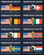 USA Global Telecom 17 Prepaidkarten - Fußball World Cup USA 1994  -  Siehe Scan -10750 - Etats-Unis