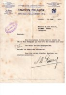 Angleterre - 4 Anciennes Factures Anglaises - English Invoice -voir état - United Kingdom