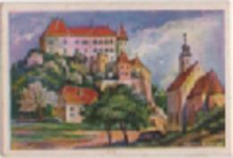 Zigarettenfabrik W. Lande Dresden: Deutschtum Im Ausland, Bild 76: Burg Wurmberg An Der Drau (Marburg, Slovenia) - Sigarette