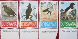 Botswana  1993  4 V  MNH - Águilas & Aves De Presa