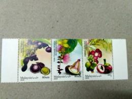 Malaysia 2018 Medicinal Plants Flora Flowers MNH Sheetlet  Setenant Strip Pairs Se-tenant Unissue - Malaysia (1964-...)
