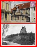 2 CPA (89)  SAINT-JULIEN-du-SAULT.  Maison Du XVIe Siècle / La Chapelle De Vauguilain...H863 - Saint Julien Du Sault