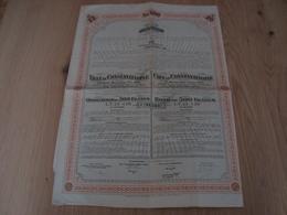 Emprunt Ville De Constantinople Municipal 5% 1913, Obligation De 500 Frs - Autres