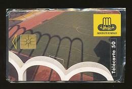 MONACO Telefonkarte - Fußball  -  Siehe Scan -10748 - Monaco