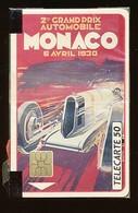 MONACO Telefonkarte - Auto, Grand Orix Automobile  -  Siehe Scan -10749 - Mónaco