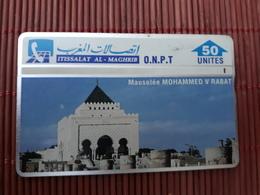 Phonecard Maroc  50 Units 310 B Used Rare - Morocco