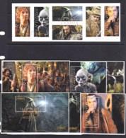 New Zealand 2012 The Hobbit - An Unexpected Journey Set Of 6 + 6 Minisheets Used - New Zealand