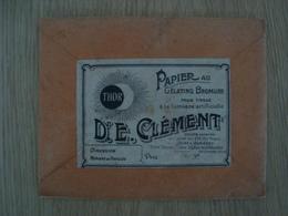 POCHETTE ANCIENNE DE PAPIER AU GELATINO BROMURE Dr.E. CLEMENT - Matériel & Accessoires