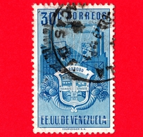 VENEZUELA - Usato - 1951 - Stemma Dello Stato Di Carabobo - Arms - 30 - Venezuela