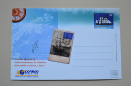 Argentine Rescate 1903 2003 Entero Salon International De Filatelia Antartica Y Naval Entier Postal Stationery Argentina - Events & Commemorations