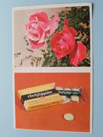 1966 Bloemen : Publi ANTIGRIPPINE Midy ( Details - Zie Foto's Voor En Achter ) Calendrier / Kalender ! - Petit Format : 1961-70