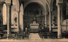 03 - BOURBON L'ARCHAMBAULT - Maison De St-Joseph - Intérieur De La Chapelle - Bourbon L'Archambault