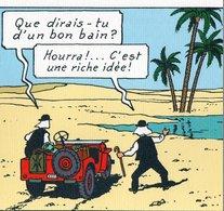 3 Planches De Dessin  De Tintin   Extrait Du Film   Au Pays De L Or Noir  19.50 X  24 Cm   Herge  Moulinsart  2011 - Autres