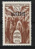 """Algerie YT 287 """" Journée Du Timbre """" 1951 Neuf** - Algeria (1924-1962)"""