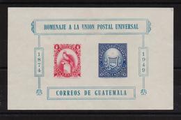 Guatemala 1951, Miblock 6, Used - Guatemala