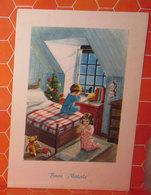 Auguri Buon Natale Bambini Cartolina - Christmas