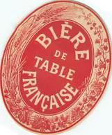 ETIQUETTE BIERE DE TABLE FRANCAISE  - JOUNEAU - Beer