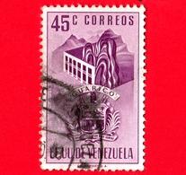 VENEZUELA - Usato - 1953 - Stemma Dello Stato Di Guarico - Arms - 45 - Venezuela