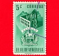 VENEZUELA - Usato - 1953 - Stemma Dello Stato Di Guarico - Arms - 5 - Venezuela
