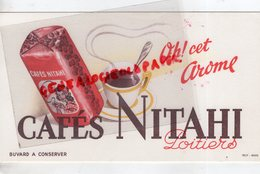 86- POITIERS- BUVARD CAFES CAFE NITAHI - IMPRIMERIE PROT REIMS - Café & Thé