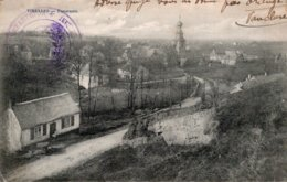 CPA  BELGIQUE---VIRELLES---PANORAMA---1914---TAMPON MILITAIRE VIOLET - Andere