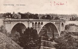 CPA    LUXEMBOURG---PONT ADOLPHE - Luxembourg - Ville