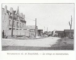 1924 - Iconographie - Guignicourt (Aisne) - Le Village En Reconstruction - FRANCO DE PORT - Non Classés