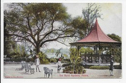 Poona - The Bund Gardens - Undivided Back - India