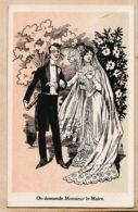 Cppub 109 Farine Lactée SALVY 6 Rue Daubigny PARIS MARIAGE On Demande Monsieur Le Maire 1920s - Advertising