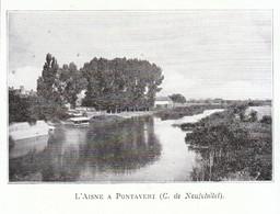 1924 - Iconographie - Pontavert (Aisne) - L'Aisne - FRANCO DE PORT - Non Classés