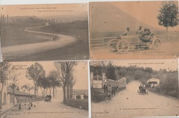 18/11/279. - CIRCUIT  D'AUVERGNE  - COUPE GORDON  BENNET   1905  - 4  CPA ( Documents ) - Otros
