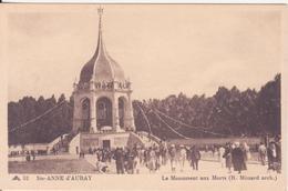 CPA - 32. STE ANNE D'AURAY Le Monument Aux Morts - Sainte Anne D'Auray