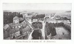 1924 - Iconographie - Liesse-Notre-Dame (Aisne) - Vue Générale - FRANCO DE PORT - Non Classés