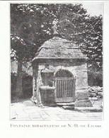 1924 - Iconographie - Liesse-Notre-Dame (Aisne) - La Fontaine Miraculeuse - FRANCO DE PORT - Non Classés