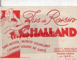 21 - NUITS SAINT GEORGES- BUVARD JUS DE RAISIN CHALLAND- SANS ALCOOL- IMPRIMERIE LUTETIA A CHALON SUR SAONE - Food