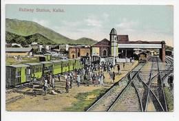 Kalka - Railway Station - India