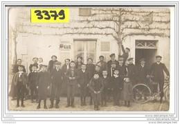 7635 AK PC CARTE PHOTO 3379 CAFE A IDENTIFIER - Cartoline
